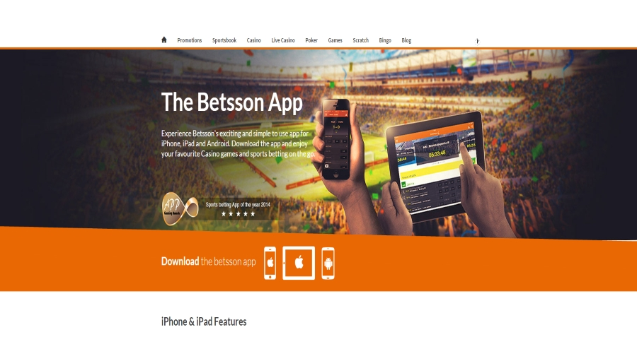 Betsson mobile betting